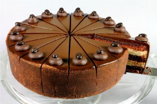 Cappucino Layer Cake Butter Brioche