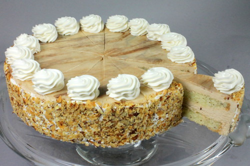 crumb and vanilla butter cream to finish the cake gourmet cakes